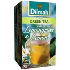 Dilmah Green Tea with Lemongrass & Lemon Teabags 25's Enveloped