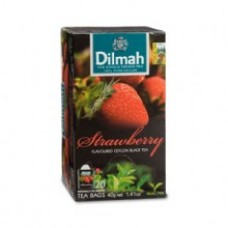 Dilmah Strawberry Flavoured Teabags 25's Enveloped
