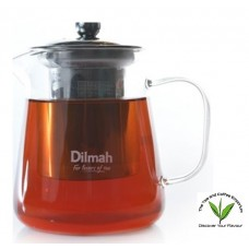 Dilmah Endane Contemporary Glass Tea Pot With S/s Strainer