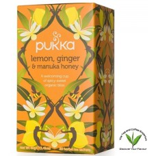 Pukka Lemon, Ginger and Manuka Honey 20's