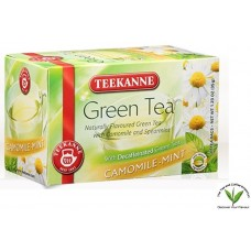 Teekanne Green Tea Decaf  with Camomile-Mint 20's