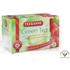 Teekanne Green Tea with Strawberry-Lemongrass 20's