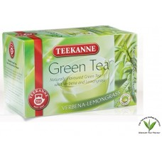 Teekanne Green Tea with Verbena-Lemongrass 20's
