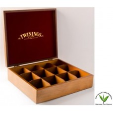 Twinings Tea Box 12 Slot- Unfilled