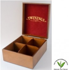 Twinings Tea Box 4 slot-Unfilled