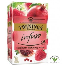Twinings Raspberry & Pomegranate Infuso 20's