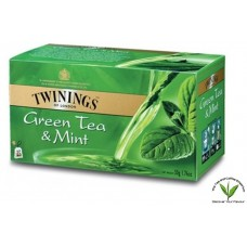 Twinings Green Tea and Mint 25's