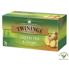 Twinings Green Tea and Ginger 25's