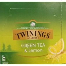 Twinings Green Tea and Lemon 100's