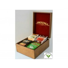 Twinings Tea Box 4 Slot - Filled