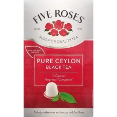 Five Roses Ceylon Black Tea Nespresso Compatible Capsules - 10's